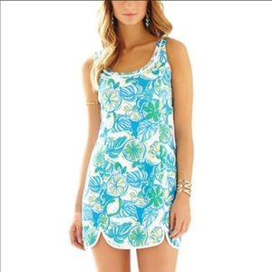 Lilly Pulitzer Knit Shift Dress Size Medium